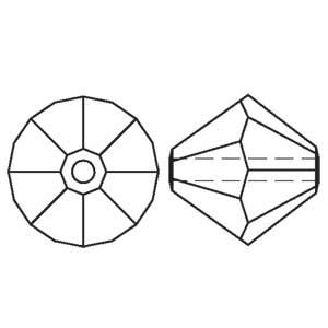 Swarovski bicone bead 5301
