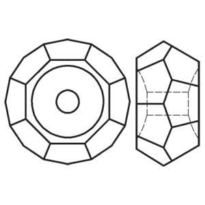 Swarovski crystal bead 5308