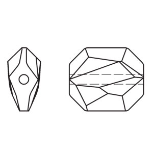 Swarovski Graphic Bead 5520