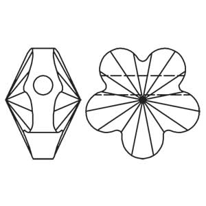 Swarovski Flower Bead 5744