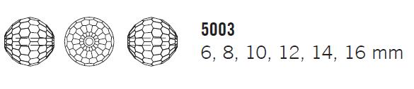 Swarovski Crystal Bead 5003 Disco Ball Sizes