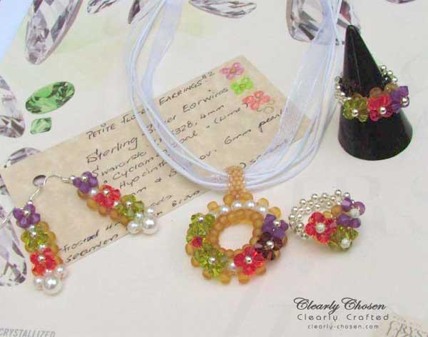 Petite Fleur Jewelry Set