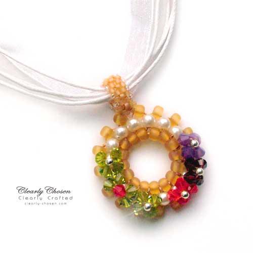Petite Fleur Swarovski Pendant
