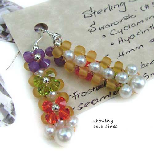 Petite Fleur Swarovski Earrings