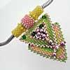 3D Retro necklace