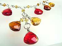 Golden Dangles necklace
