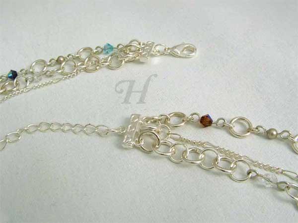 Handmade earrings necklace