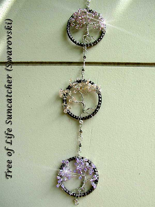 Tree of Life - Crystal Suncatchers