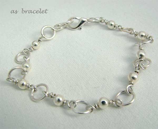 Transformer Necklace-Bracelet