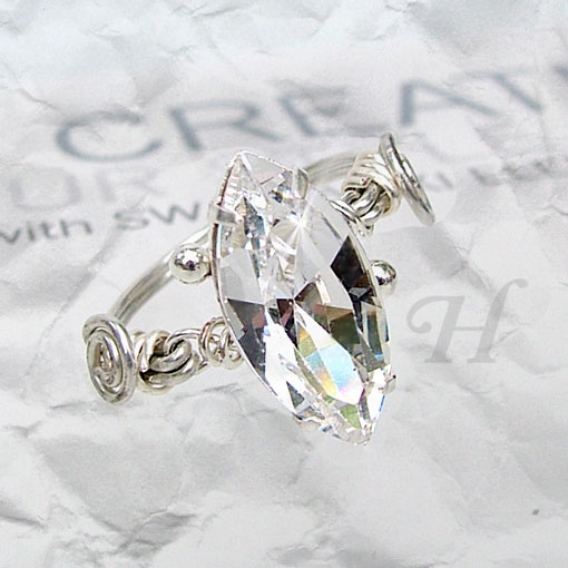 Simply Rapt Wire Wrapped Jewelry Ring