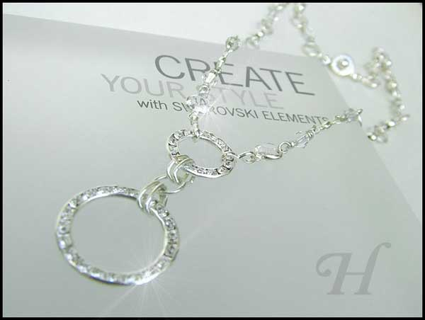 Glamorous Circles Necklace