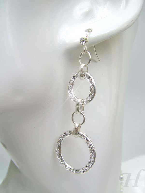 Glamorous Circles Earrings
