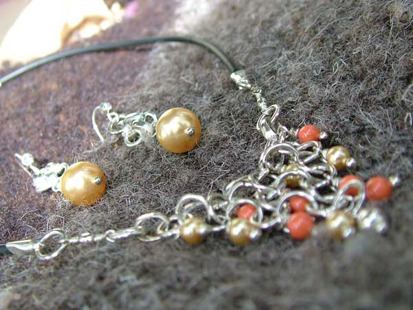 Triangulation Happy Gold - chain maille jewelry