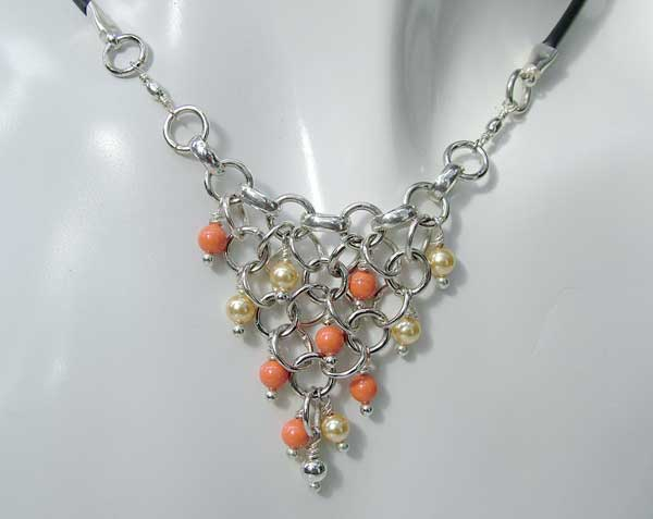 Triangulation Happy Gold - chain maille jewelry