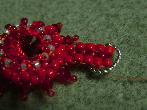 Fire and Water rivoli Swarovski earrings