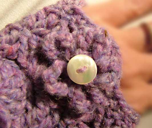 Long Romance Crochet Fingerless Gloves Hand Warmers