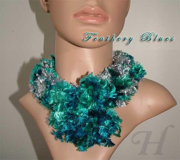 handmade neck warmer or neck loop