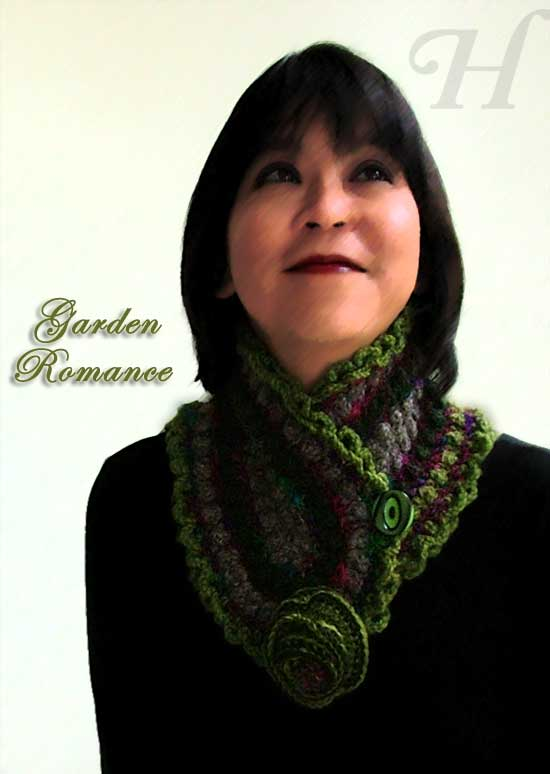 handmade neck warmer or neck wrap