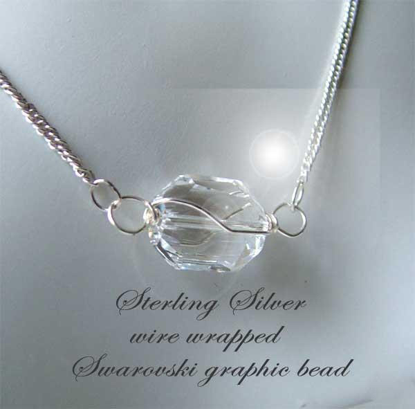 Starlit Swarovski and Sterling Silver Modular Necklace