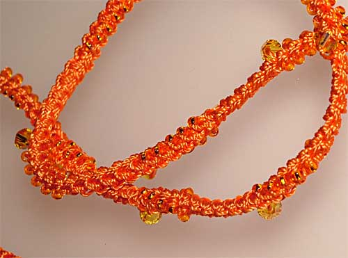 Beaded Crochet Rope Jewelry