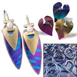 niobium jewelry and findings