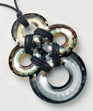 Swarovski Pendant 6039 Disk