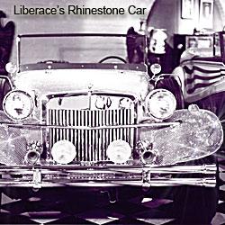 Liberache's Rhinestone Car