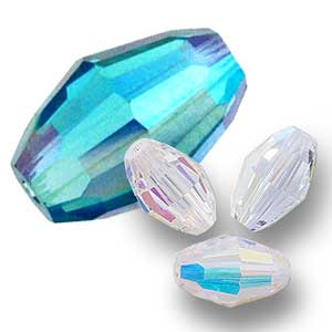 Swarovski 5200 faceted oval