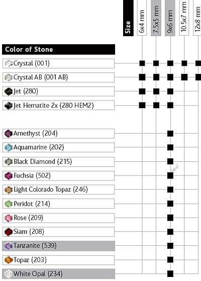 5523 cosmic crystal bead