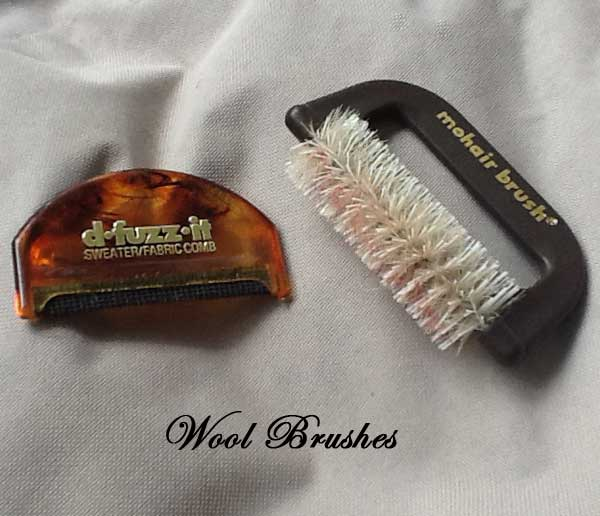 Mohair or Wool Brush