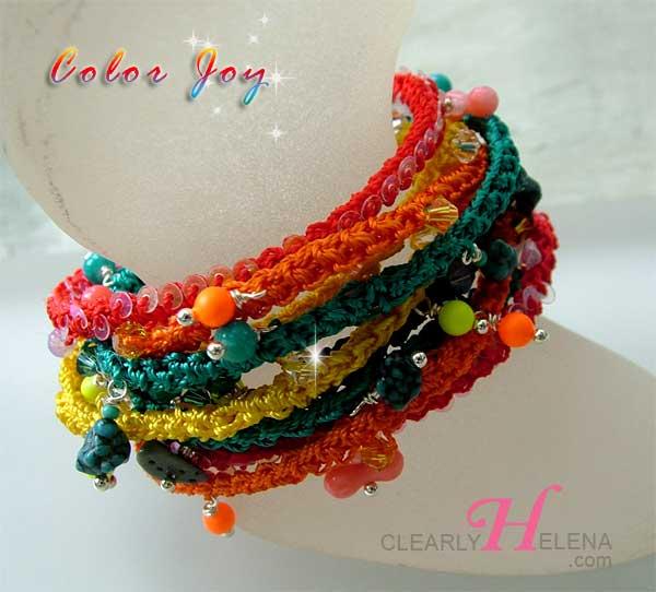 Beaded Crochet Rope Jewelry