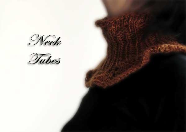 handmade neck tube or neck warmer