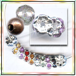 spacer beads and rondell