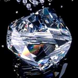Swarovski helix bead 5020