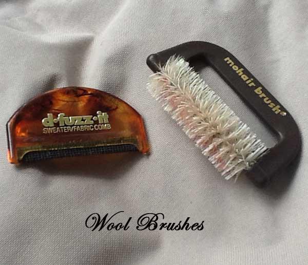 Mohair or Wool Brush